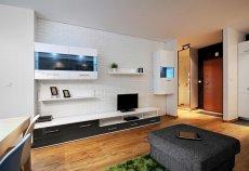 Salon w stylu minimalistycznym, meble Avila