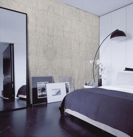 Sypialnia, boazeria korkowa