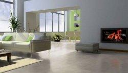 Salon, panele podłogowe imitujące płytki ceramiczne SoftSilent