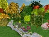 Przykładowa wizualizacja w programie Wymarzony Ogród