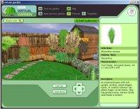 Okno programu Virtual Garden