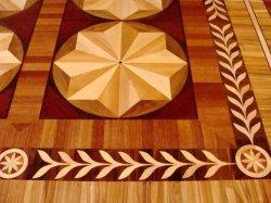 Posadzka wykonana z płyt mozaikowych