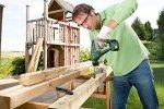 Urządzenie jest bezprzewodowe, co gwarantuje użytkownikowi swobodną pracę w domu i ogrodzie.